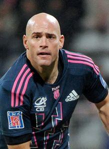 Felipe Contepomi Stade Francais blue pink