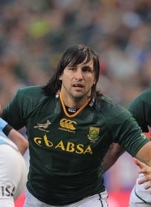Jacques Potgieter South Africa v Argentina newlands