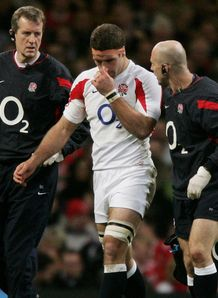 Joe Worsley England concussion 2007