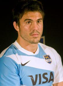 Juan Martin Hernandez in new Argentina shirt