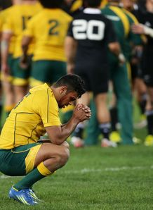 Kurtley Beale 2 Aus v NZ RC 2012