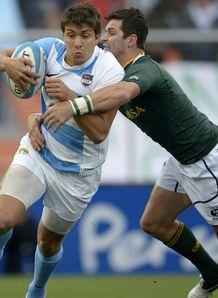 Lucas Gonzalez Amorosino Morne Steyn Argentina v South Africa