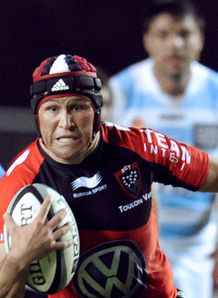 Matt Giteau Toulon Racing Metro
