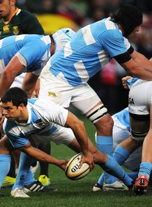 Nicolas Vergallo passing for Argentina
