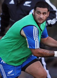 Piri Weepu ABs training 2012