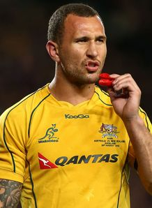 Quade Cooper Wallabies v All Blacks RC 2012