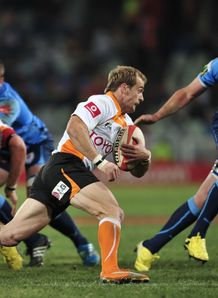 Sarel Pretorius Free State Cheetahs v Blue Bulls Currie cup 2012