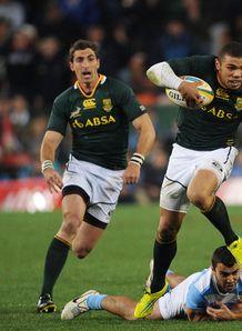 South Africa v Argentina Brian Habana