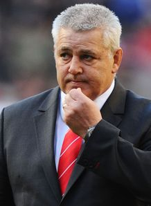 Warren Gatland Wales boss 2012