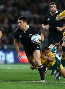 dan carter all blacks v wallabies