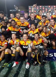 SKY_MOBILE Chiefs - Super Rugby trophy - 4/8/12