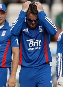 England off-spinner Graeme Swann admits team