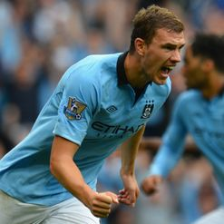 Dzeko: Scores off the bench