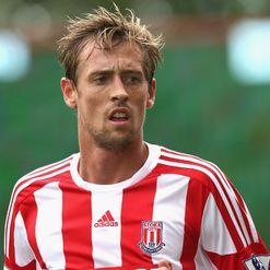 Crouch: Eager to face former club