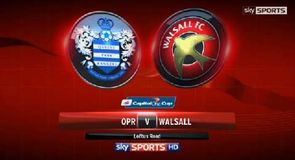 QPR 3-0 Walsall