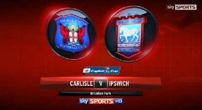 Carlisle 2-1 Ipswich