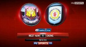 West Ham 2-0 Crewe