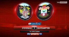 Stevenage 1-4 Southampton