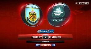 Burnley 1-1 Plymouth