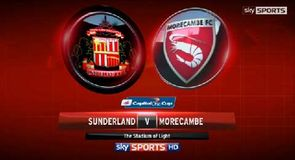 Sunderland 2-0 Morecambe