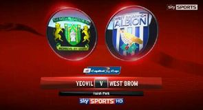 Yeovil 2-4 West Brom