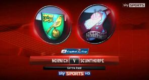 Norwich 2-1 Scunthorpe