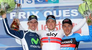 Edvald Boasson Hagen soloed to a superb victory after a late attack