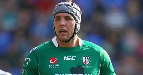 Bryn Evans London Irish