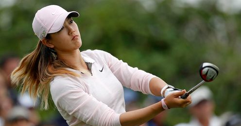 Michelle Wie: Had a horror 2012
