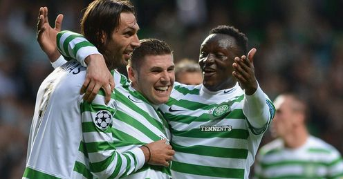 Barca bound: Celtic have been drawn with Spanish giants Barcelona