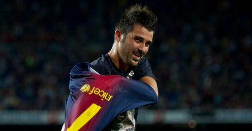 He&#39;s back! Villa returned after long lay-off