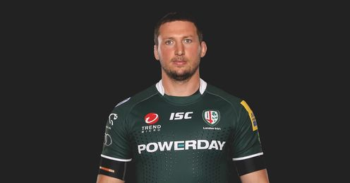 Declan Danaher London Irish launch