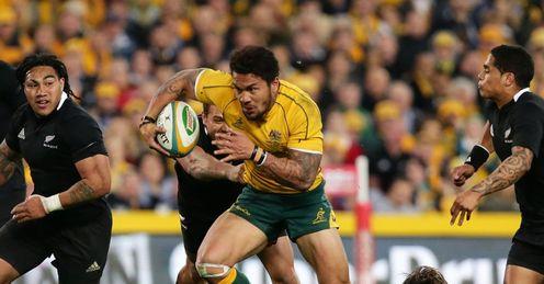 Digby Ioane Australia v New Zealand