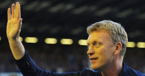 Moyes: the Scot&#39;s Everton side will host Newcastle on Monday Night Football
