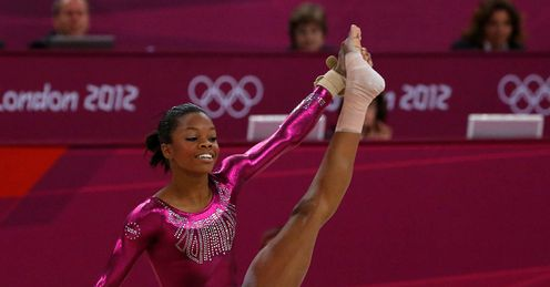 Gabrielle Douglas Women s Individual All Round Russia London 2012 Olympic Games