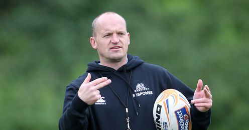 Gregor Townsend Glasgow Warriors coach 2012