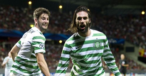 Samaras: the Greek forward has not always been loved by Hoops fans