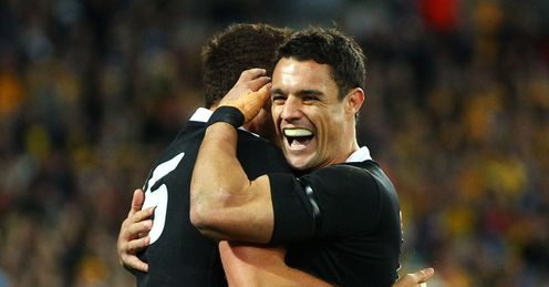 Israel Dagg Dan Carter New Zealand Australia