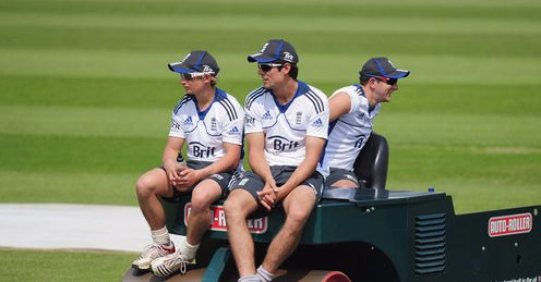 Steam-rollered: can James Taylor (left) help England recover from their Oval mauling?