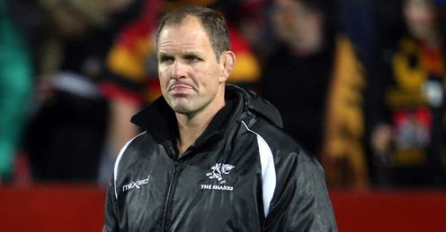 John Plumtree Sharks coach v Chiefs 2012
