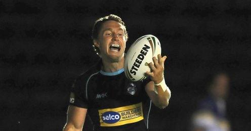 Luke Dorn London Broncos