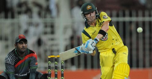 Michael Clarke Australia v Afghanistan
