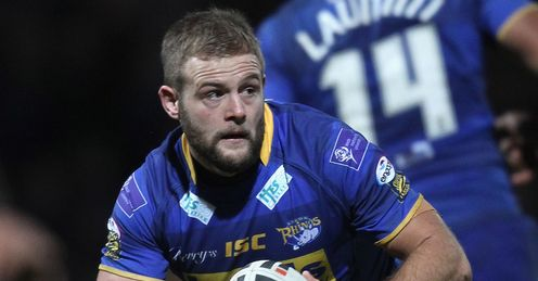 Paul McShane Leeds on loan at Widnes