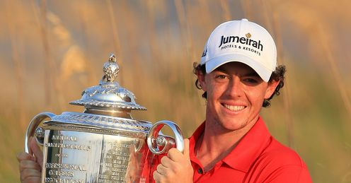 Marvellous McIlroy: Rory was in fine form at Kiawah Island, says Rob