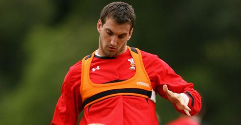 Sam Warburton Wales training 2012