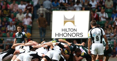 Saracens london irish hilton ticket comp