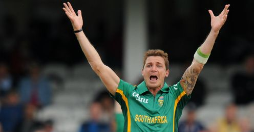 Dale Steyn appeals South Africa v England Oval ODI