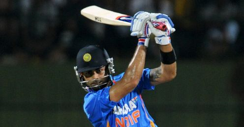 Virat Kohli on the attack Sri Lanka v India T20 Pallekele