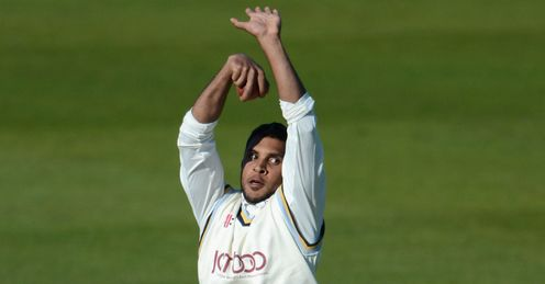 Adil Rashid Yorkshire v Leicestershire County Championship Grace Road