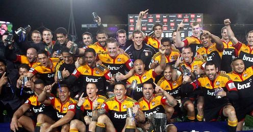 Chiefs - Super Rugby trophy - 4/8/12